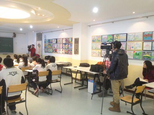 外研社在我校完成课堂实录录制工作