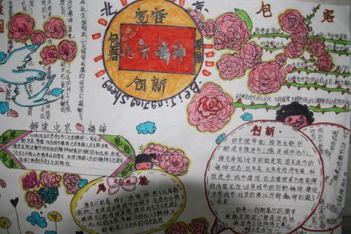 有关汉字的手抄报的设计图展示