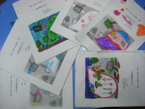 同學們創意染色的作業封面圖片
