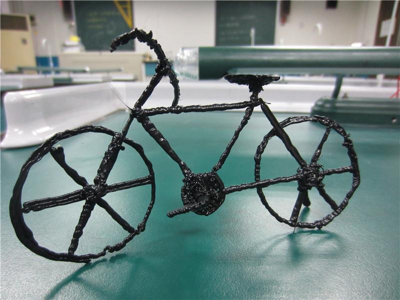 小学生科学手工制作自行车