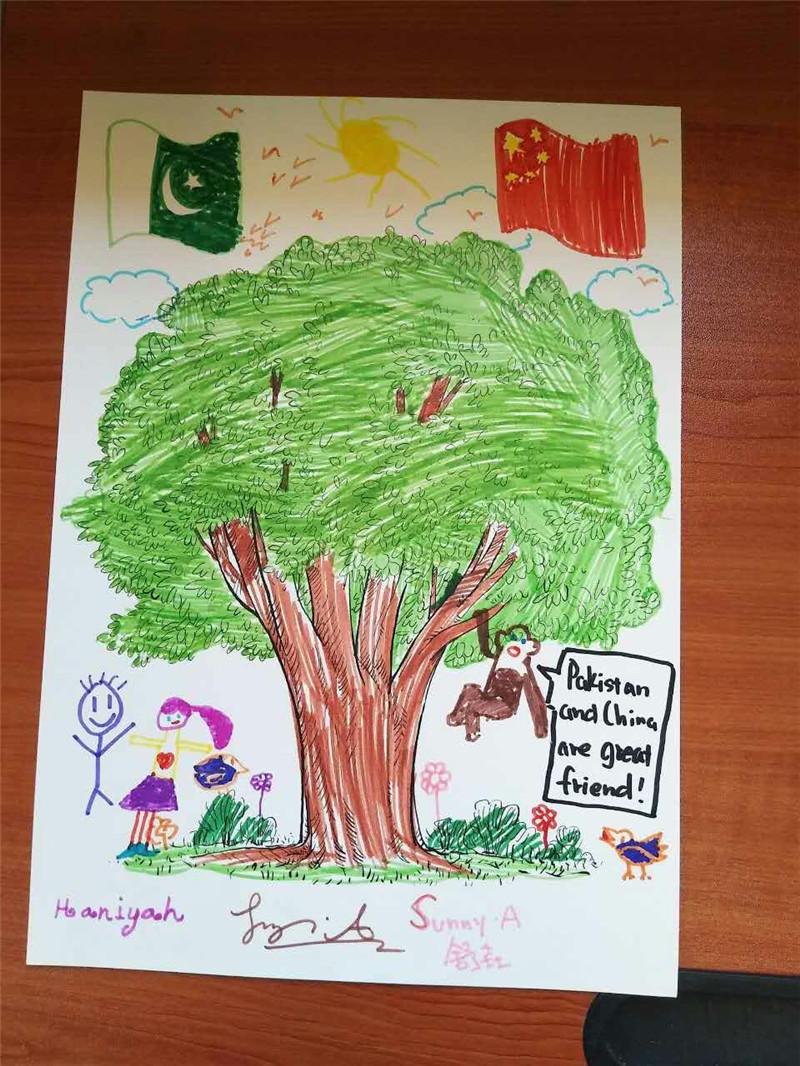 舒垚和巴基斯坦小孩画的画.jpg