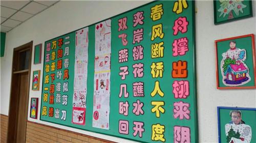 幼儿园中班教室门头设计
